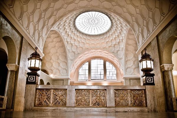 Foto der Dachkuppel im Lichthof des LMU Hauptgebäudes