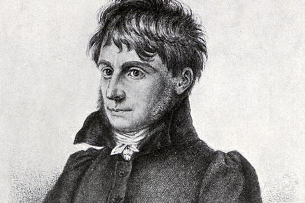 Historische Zeichnung von Joseph Görres