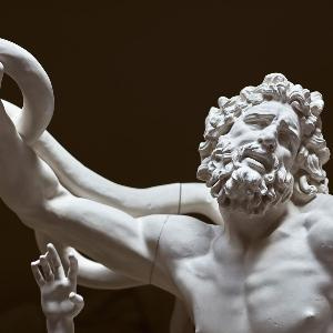 Statue des Laokoon im Museum für Abgüsse Klassischer Bildwerke München.