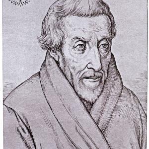 Historisches Gemälde von Petrus Canisius