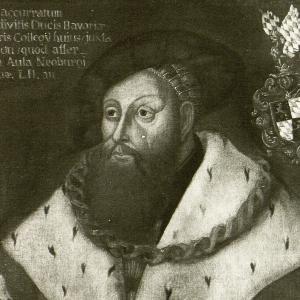 Historisches Gemälde von Georg dem Reichen