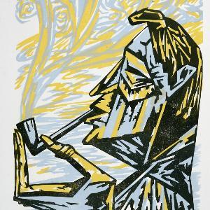 Eine Zeichnung aus der Sammlung der Kunstgeschichte.