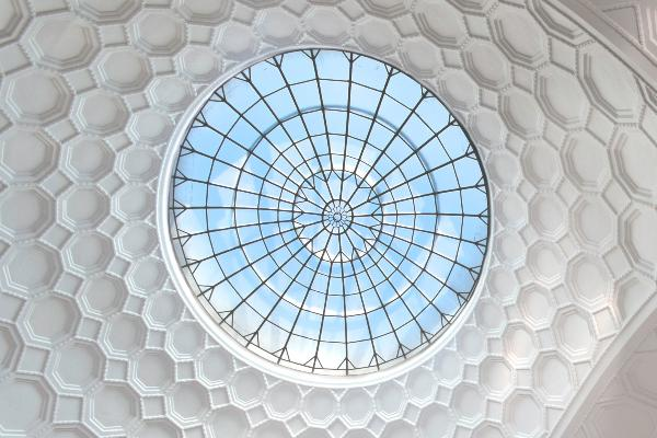 Kuppel / Decke im Lichthof der LMU