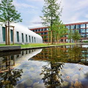 Bild des Campus am Biomedizinischen Zentrum in Martinsried.