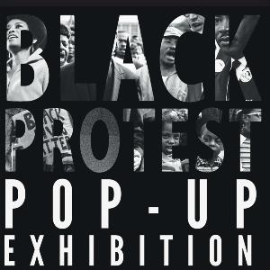 Das Plakat einer Pop up Exhibition.