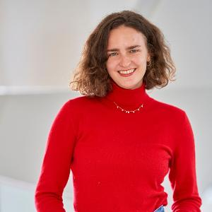 Aufnahme der Deutschlandstipendiatin Alina Breddeman