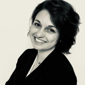 Ein Portrait von Marlene Weber.