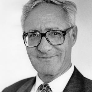 Porträt von Prof. Wulf Steinmann, verstorbener ehemaliger LMU Rektor.