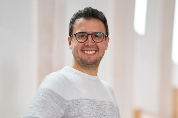 Aufnahme des Deutschlandstipendiaten Lukas Röll