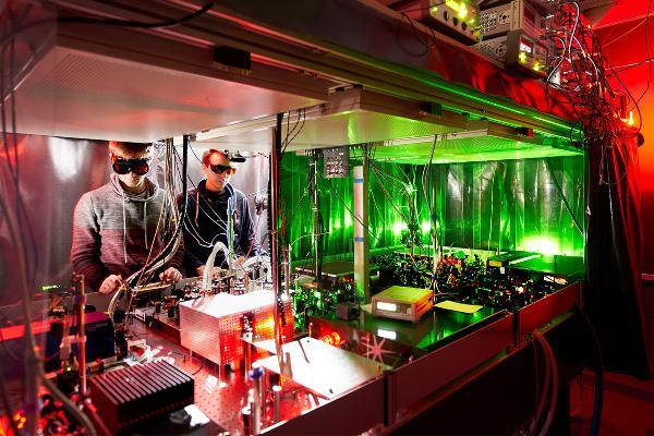 Quantenforschung in den Laboren von Immanuel Bloch