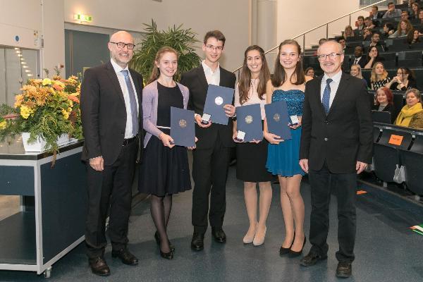 Verleihung des Herbert-Marcinek-Preises