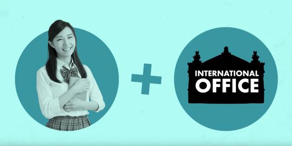 Standbild eines Videos über die Bachelorbewerbung