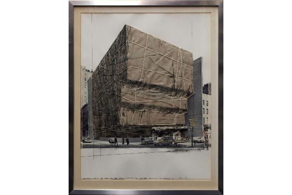 Christó: Das verpackte Whtiney Museum of American Art in New York