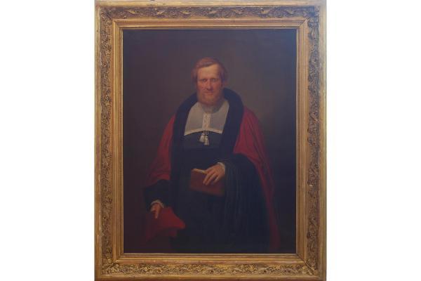 Engelbert Seibertz: Portrait des Ludwig Arndts im Professorentalar der Juristischen Fakultät