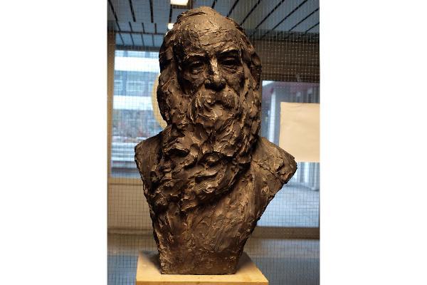 Ulfert Janssen: Portrait von Walt Whitman