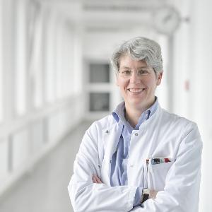 Prof. Dr. Julia Mayerle im LMU Klinikum.