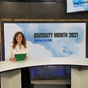 Vice President Francesca Biagini at the kick-off of Diversity Month 2021.