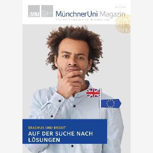 Titelbild der MUM-Ausgabe: Porträt eines jungen Manns