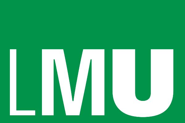 LMU lettering on a green background