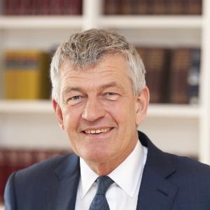Professor Bernd Huber, Präsident der LMU