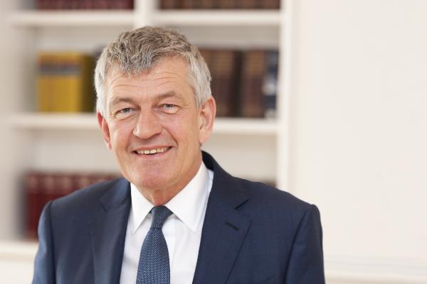 PROF. DR. BERND HUBER, PRESIDENT OF LMU MUNICH